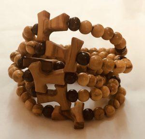 Braccialetto in legno